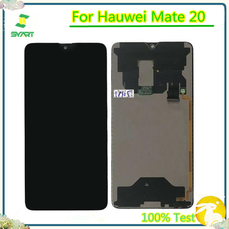 6.53'' LCD For Huawei Mate20 Mate 20 HMA-L09 L29 AL00 TL00 LCD Display Touch Panel Screen Sensor Digitizer Assembly For Mate 20