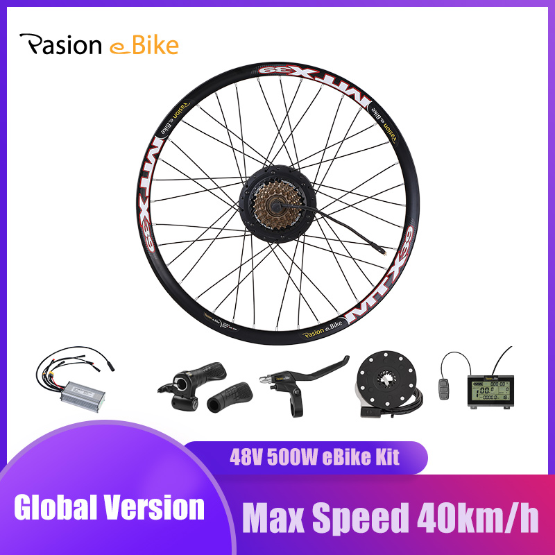 <font><b>E</b></font> <font><b>BIKE</b></font> <font><b>Conversion</b></font> <font><b>Kit</b></font> 48V 500W mit Bafang Hub Motor Set Für Electric <font><b>Bike</b></font> <font><b>Conversion</b></font> <font><b>Kit</b></font> mit BAFANG motor Hinten Rad Motor image