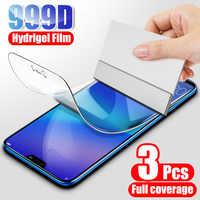 Película protectora de hidrogel para Huawei, Protector de pantalla para Huawei P20 P30 Lite Pro P40 P smart 2019, película protectora para Honor 10 Lite 9 8X 9X