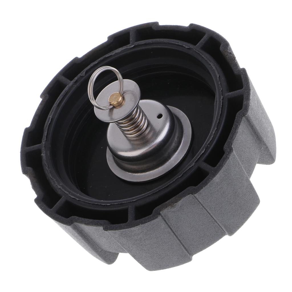 Black Fuel Tank Cap Boat Replacement Outboard Engine ABS Plastic Parts Components