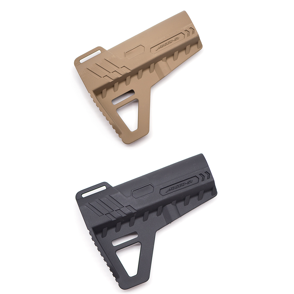 Tactical Nylon Stock For Air Guns CS Sport Paintball Airsoft M4 M16 BD556 Gel Blaster Receiver Gearbox Accessories