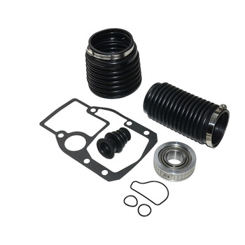 Accessories Clamp With Gasket U-Joint Black Tools Bellows Repair Kit Transom Durable Replacement For OMC 1986-1993 911826