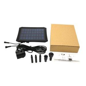 Погружной фонтанный насос с питанием от солнечной батареи, 9 В, 2,5 Вт, для полива сада, для пруда, светодиодный, Beadss
