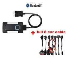 2021 nowy VCI 2017.R3 2016.R0 VD z Bluetooth dla vdIJk pro Obd2 samochodów narzędzie diagnostyczne do ciężarówki Obd obd2 skaner