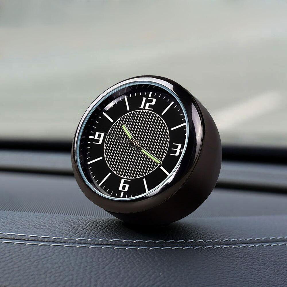 1 шт. украшения для приборной панели автомобиля часы, устанавливаемое на вентиляционное отверстие в салоне автомобиля, кварцевые наручные ч...