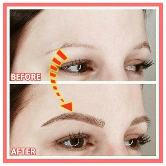 4D Hair-like Eyebrow Tattoo Sticker False Eyebrows Water-based Eye Brow Stickers Eye Brow Patches Cosmetics Eyebrow Pads 3Model 3