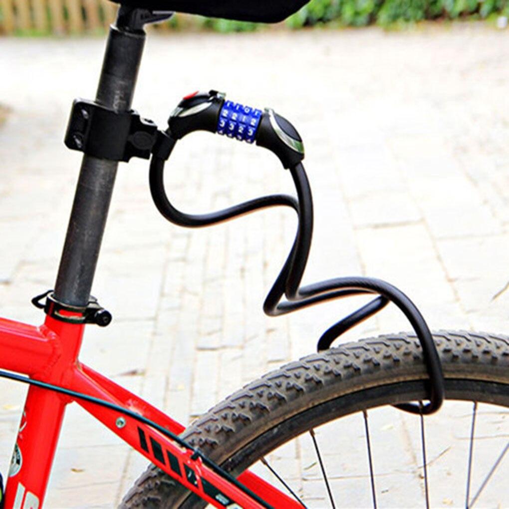 Bike Key Lock Chain Bicycle EBike Trolly Security Steel Wire Cable Locker Tool