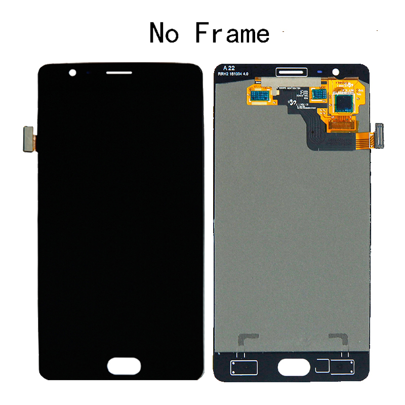 """Image 5 - 5.5"""" AMOLED For Oneplus 3 3T LCD display + Touch screen sensor assembly replacement A3010 A3000 A3003 mobile phone repair parts-in Mobile Phone LCD Screens from Cellphones & Telecommunications"""