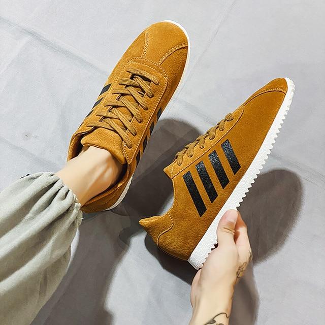 Фото мужские брендовые кожаные повседневные ботинки мужские модные