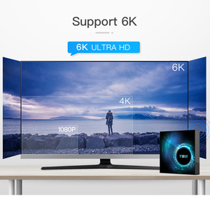 Image 2 - Allwinner h616 6k 30hz smart tv caixa android 10.0 10 9 Mali G31 mp2 4gb 32gb 64gb quad core media player conjunto caixa superior