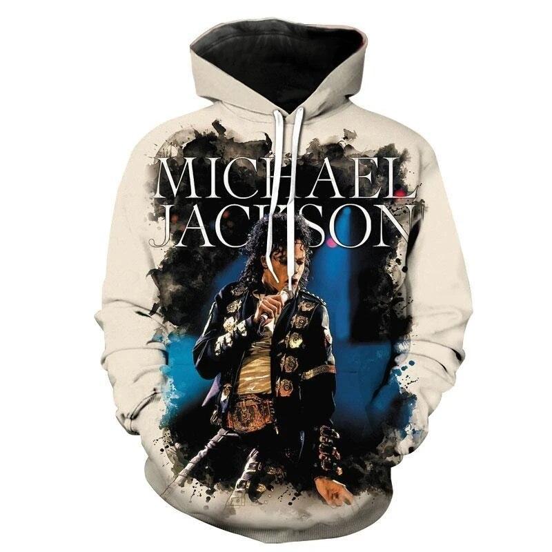 PLstar Cosmos PopStar King Singer Michael Jackson Hiphop NewFashion Pullover Unisex 3DPrint Zipper/Hoodies/Sweatshirts/Jacket 12