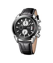 MEGIR Man watch 2019 multi-function Casual fashion leather waterproof watch 2020 Top brand megir коричневый цвет
