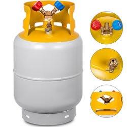 Récupération de réfrigérant récupération 30lb cylindre réservoir 400 PSI intérieur évalué Y Valve
