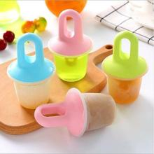 9pcs Summer Ice Lolly Moulds Frozen Yogurt Icebox Home DIY Ice Cream Maker Ice Cream Mould Ice Tray Homemade Ice Lolly Mold 8cells ice pop lolly maker tray mould frozen cream popsicle yogurt mold maker diy pba free 35