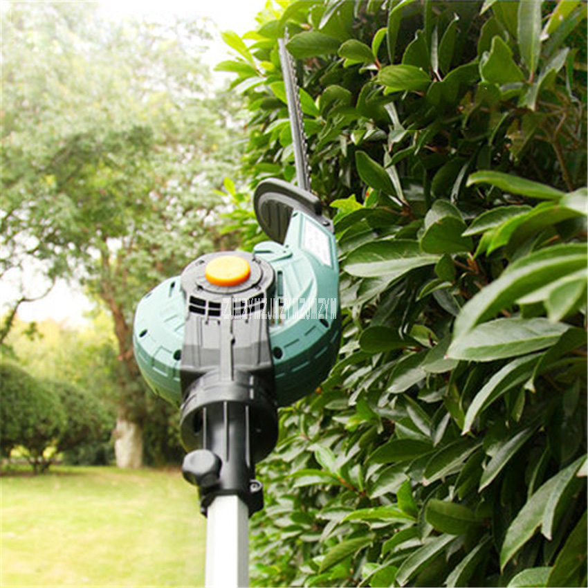 High 1600rpm Pruning Gardening Electric Telescopic High 450W AC220V Household Trimmer Altitude Shear Hedge Branch Saw ET1206