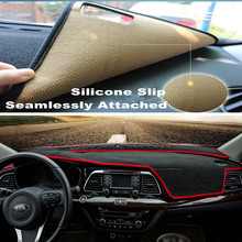 SJ Custom Anti-Slip ภายในรถ Auto Dashboard ฝาครอบ Sun Shade Dash Board สำหรับ Toyota alphard 2010 2011-2015(China)
