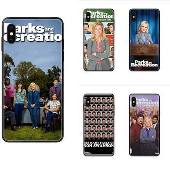 For Huawei Honor Mate Play V10 View 10 20 20X 30 Lite Pro Y3 Y5 Y9 Nova 3 3i Pro TPU Covers Tv Show Parks And Recreation Poster image