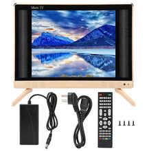 24 Polegada alta definição lcd tv portátil mini televisão com qualidade de som baixo 110-240v quente