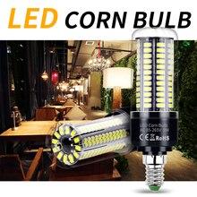 LED Lamp 220V Corn Bulb E27 Candle Light E14 5W LED Bulb 3.5W 7W 9W 12W 15W 20W Ampoule B22 Light 110V No Flicker Lighting 5736 viewi 4x ampoule dimmer led bulb super bright 110v 220v e27 25w dimmable corn bulbs light for home lighting 5736 130 leds lamps