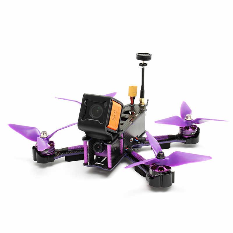 Kreator X220S FPV Racer RC Drone W/ F4 5.8G 40CH 30A Dshot600 800TVL CCD Cam Flysky FS-i6X FS-A8S odbiornik RTF/ARF