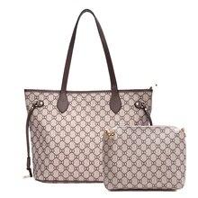 цена на New Designed Handbag for Women Fashion Shopping Shoulder Bag Ladies Vintage Shoulder Handbags Large Capacity Tote Handbag 2019