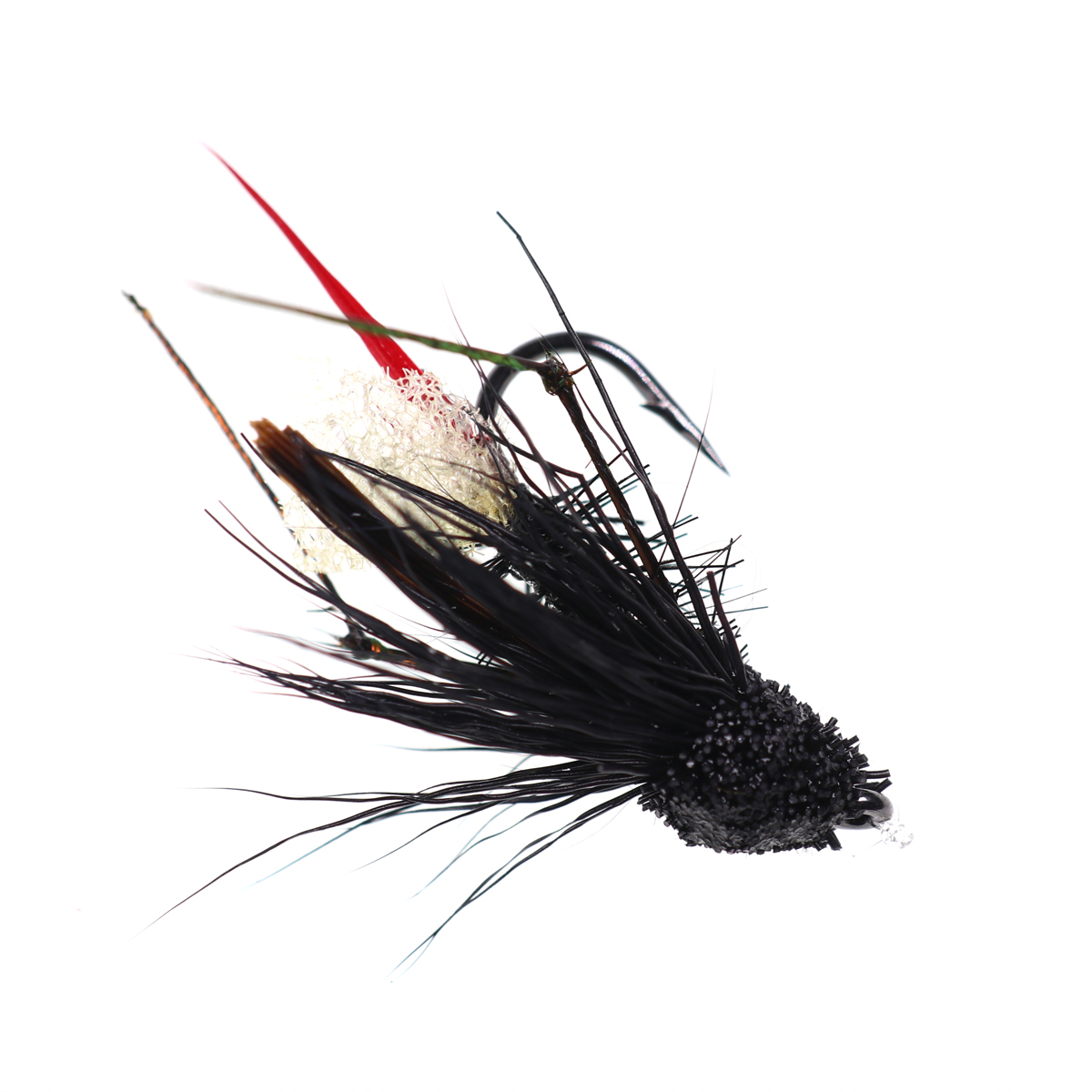 5PCS #10 Trout Fishing Fly Grass Hopper Fly terrestrial Hopper Fly Floating Bass Crappie Bug Bait Artificial Lure 23