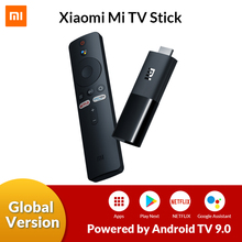 Original Global Xiaomi Mi TV Stick Android TV 9.0 Quad Core 1080P HD Audio Decoding Chromecast Netflix Smart TV Stick 1GB 8GB