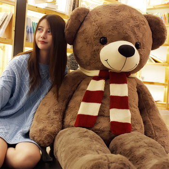 Cute Huge Teddy Bear Stuffed Animals Doll Teddy Bear Plush Toy Big Plush Christmas Toy Girlfriend Birthday Kawaii Gift 2m AA60MR
