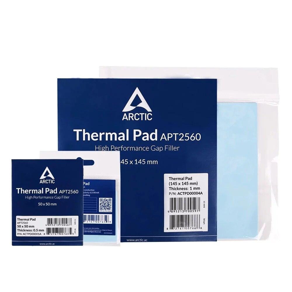ARCTIC AC Thermal pad 6.0 W/mK 0.5/1.0/1.5mm High Efficient thermal conductivity Original authentic Arctic Thermal pad 3
