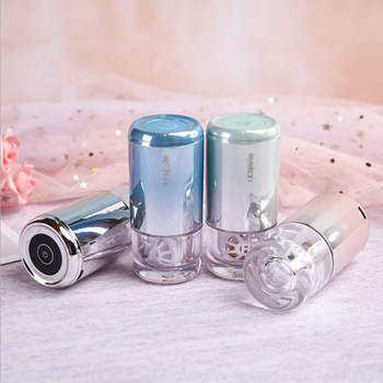 2020 Contact Lens case Luxury Gradient Contact Lenses Cleaning Tools Portable Contact Lens Cleaner Contact Lens case washer luxury roundness contact lens case color water eye lens box popular travel lens case contact with mirror