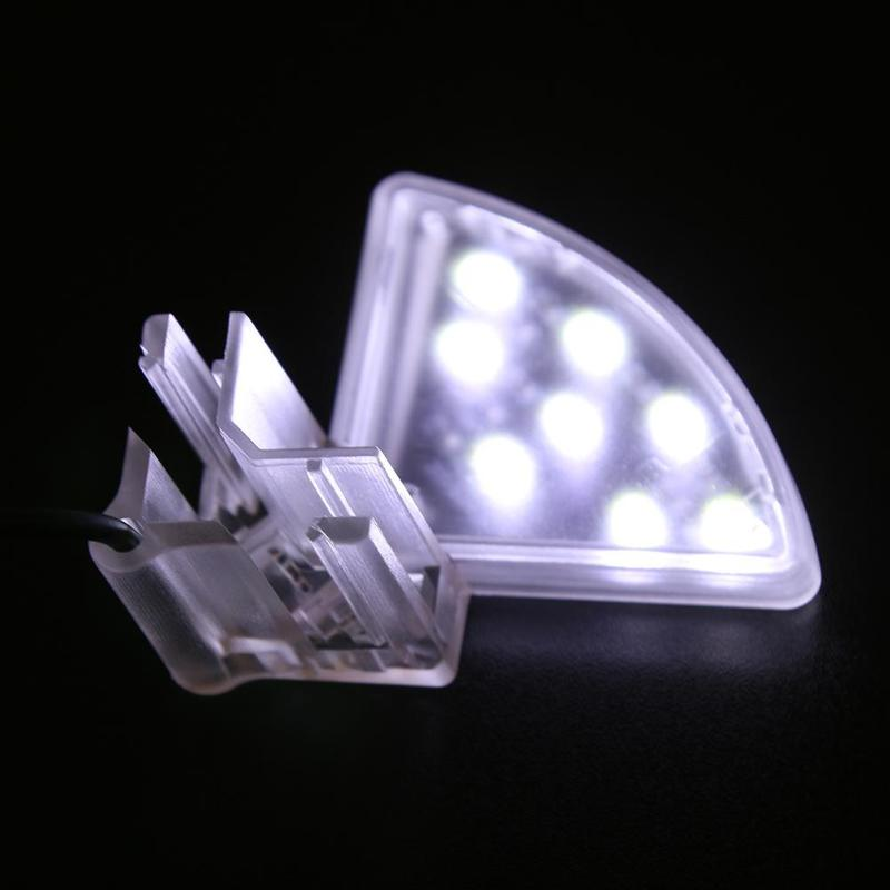 Mini Waterproof Clip LED Aquarium Light 5W Aquatic Plants Grow Lamp Plants Grow Light Clip-on Lamp For Fish Tank Waterproof