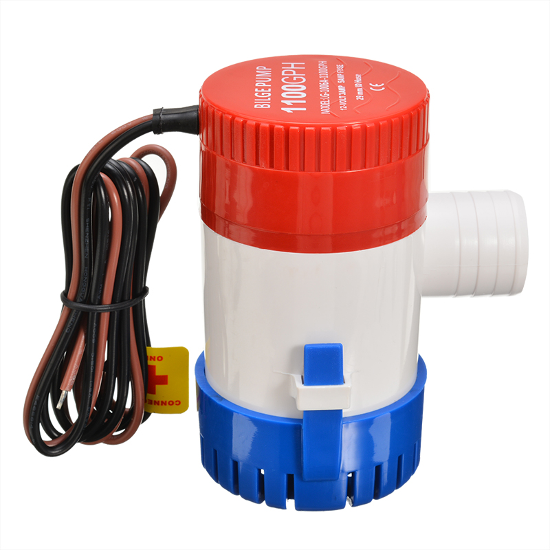 <font><b>1100</b></font> <font><b>GPH</b></font> 12V Submersible Marine <font><b>Pump</b></font> Boat <font><b>Bilge</b></font> Water <font><b>Pump</b></font> With Float Switch For Marine RV Campers Yacht Drainage Supplies image