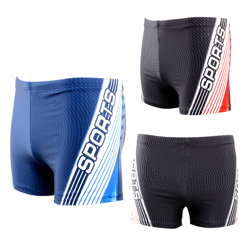 2015 HNSD Brand New Style Fashion Men Sports Boxer Swimming Trunks 8860