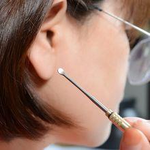 Титановая тактическая зубочистка ушной пинцет латунная трубка