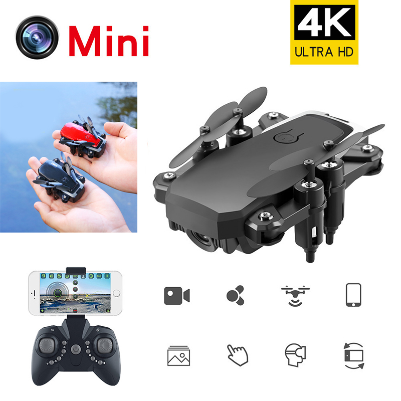 Drone 4k Profesional Foldable Camera Rc Helicopter 6ch Parts Remote Control Outdoor Fun Small Selfie 4k Drones With Camera Hd