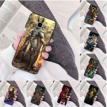Egypt Anubis High Quality Phone Case for Samsung a3 a5 a6 a9 a7 a8 a10 a20 a40 a70 case image