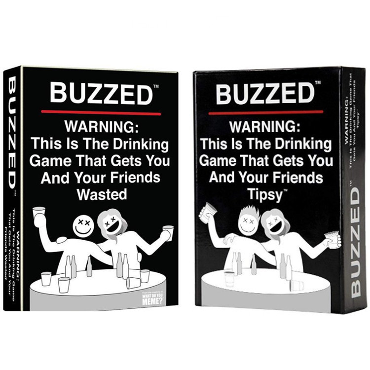 Buzzed board games Zumbado - this is the truth or drinking party game that makes you and your drunk friends! Board game card(China)