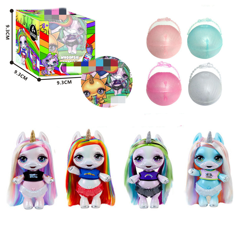 Surprise Poopsie Slime Unicorn <font><b>LOLS</b></font> <font><b>Dolls</b></font> Toys Hobbies Stress Relief Toy Squeeze for Children Squish Rainbow Squishy Stool image