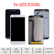 Original For ASUS Zenfone Max ZC550KL Z010DA LCD Display Touch Screen Digitizer Assembly For Asus ZC550KL Display with Frame 5.5 стоимость
