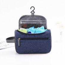 Women Travel Waterproof Oxford Organizer Cosmetic Bag Ladies Hanging Makeup Bags Girls Washing Toiletry Kits Storage
