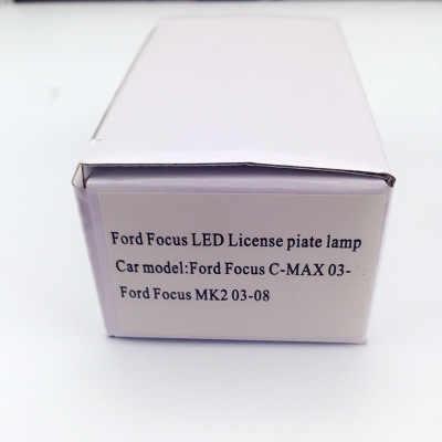 20 шт. Автомобильный светодиодный фонарь для Ford для Focus C-MAX MK2 номерной знак светодиодный светильник белого цвета размер 85x32x15 мм