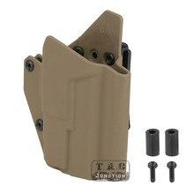 OWB Light-funda con tornillos para pistola táctica, Compatible con Kydex, APL, versión ligera, 17, 19 DE