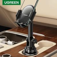 UGREEN coche soporte para teléfono móvil teléfono soporte en soporte para teléfono de coche para teléfono móvil accesorios del teléfono soporte de teléfono