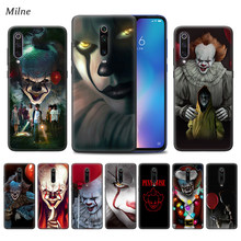 Pennywise ליצן מקרה עבור Xiaomi Redmi הערה 9S 7 8 8T K30 K20 8A 7A 10X 5G mi 9T 10 9 פרו A3 שחור TPU טלפון Coque Casos(China)