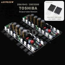 Placa amplificadora de potencia 2CH A60 +, 2SA1943/2SC5200 o MJL4281A/MJL4302A, referencia accuphase A60, valoración actual
