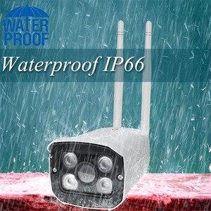 Image 2 - 720P 1080P חיצוני IP חיצוני Wifi CCTV Bullet אודיו מצלמה עמיד למים מלא מתכת ראיית לילה Yoosee App