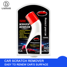 LUDUO Car Polish Paint Scratch Remover Paste Polishing Wax Clean Repair Liquid Care Maintenance Auto Detailing 100ml