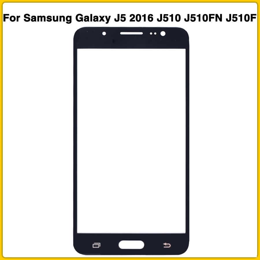 新 Lcd 前面サムスンギャラクシー J5 2016 J510 J510FN J510F J510G J510Y ディスプレイデジタイザセンサー外側ガラスタッチ画面