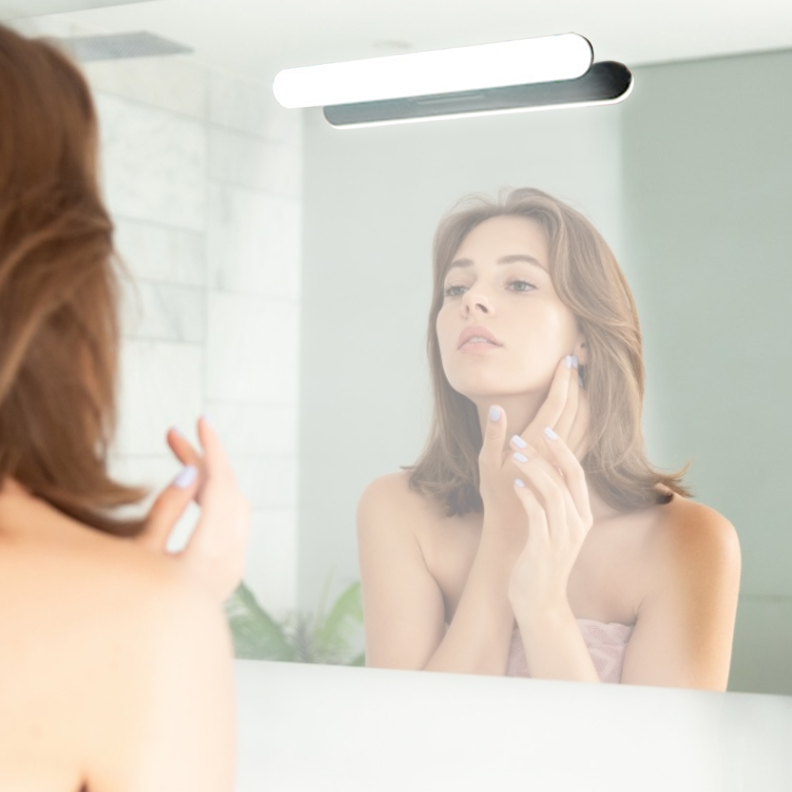 LED Wall Light Makeup Mirror Lights Led Vanity Lights Cabinet Lamp Bathroom Rechargeable Bathroom Dressing Lamp