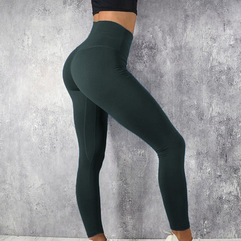 Women Leggings Women High Waist Push Up Elastic Fitness Gym Sport Leggings Spandex Workout Legging Pants